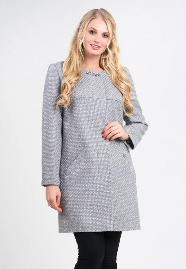 женское пальто vicco, серое