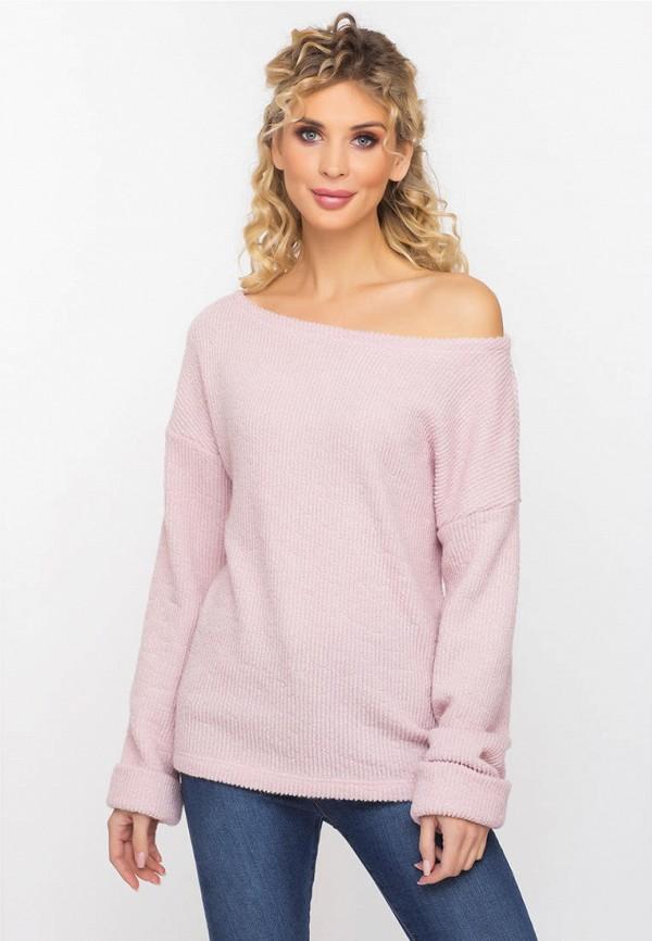 женский джемпер gloss, розовый