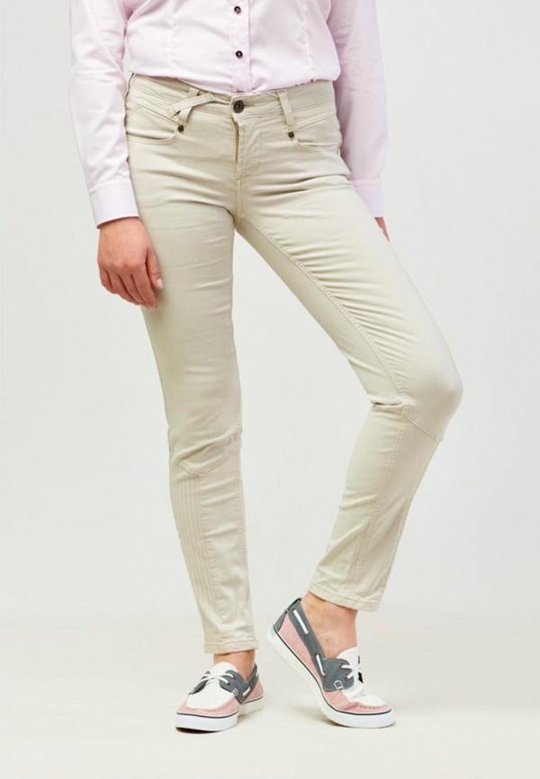 женские повседневные брюки campione, бежевые