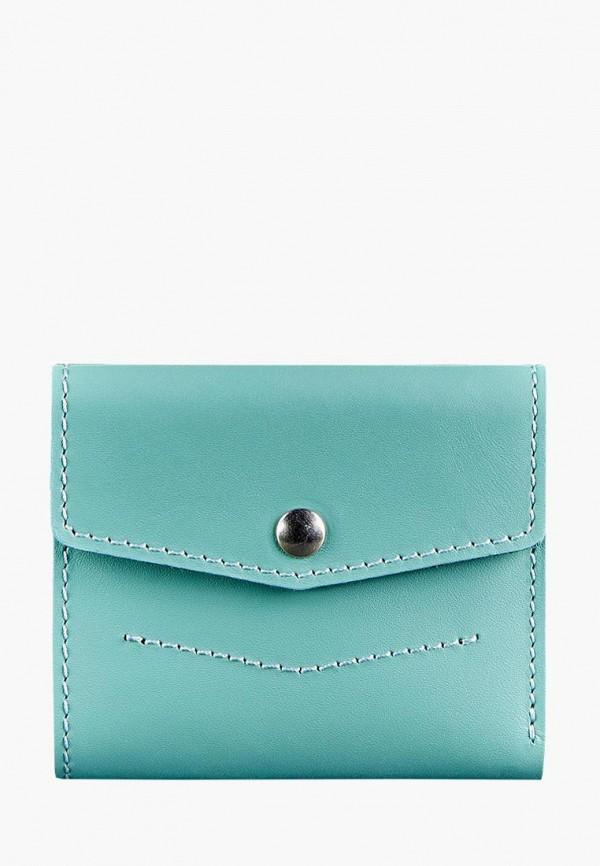 женский кошелёк blanknote, голубой