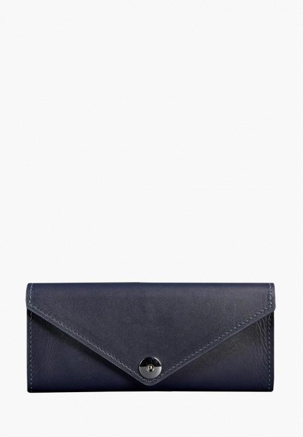 женский кошелёк blanknote, синий