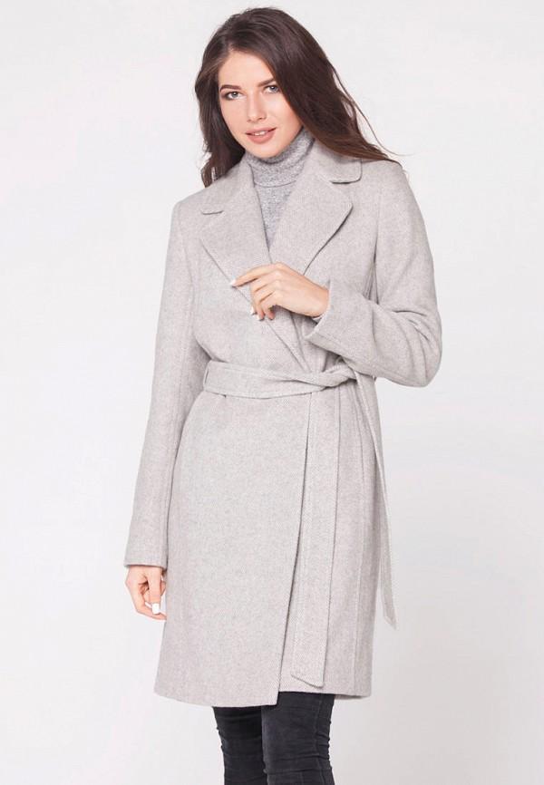 женское пальто florens, серое