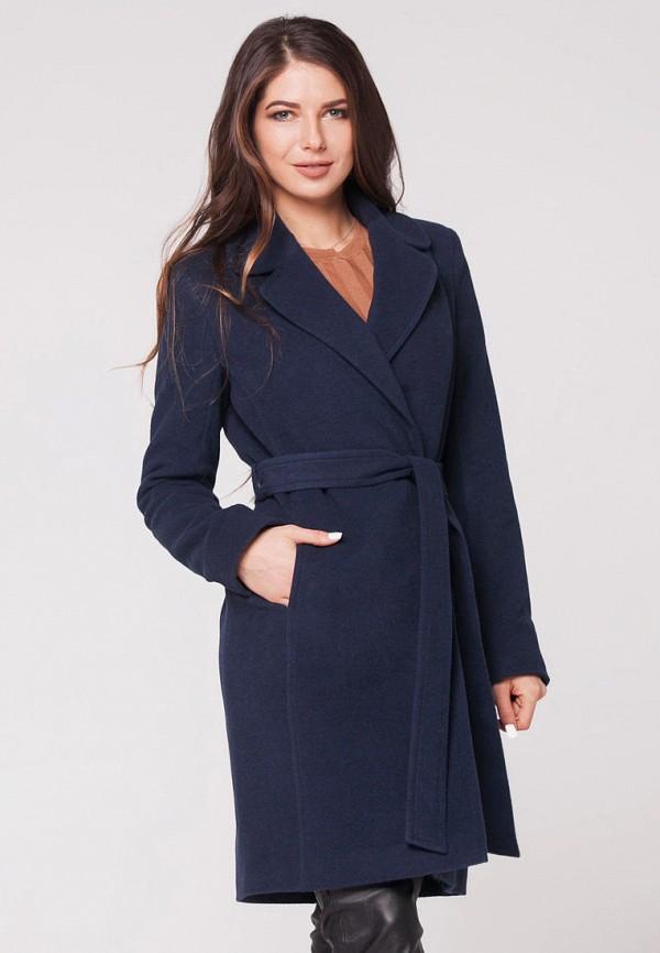 женское пальто florens, синее