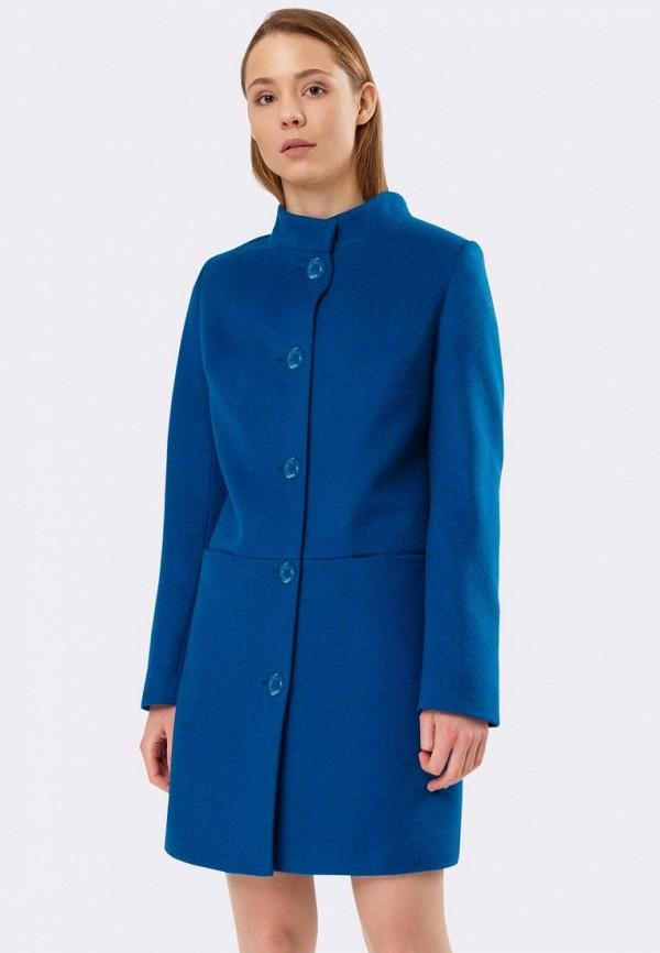 женское пальто cat orange, синее