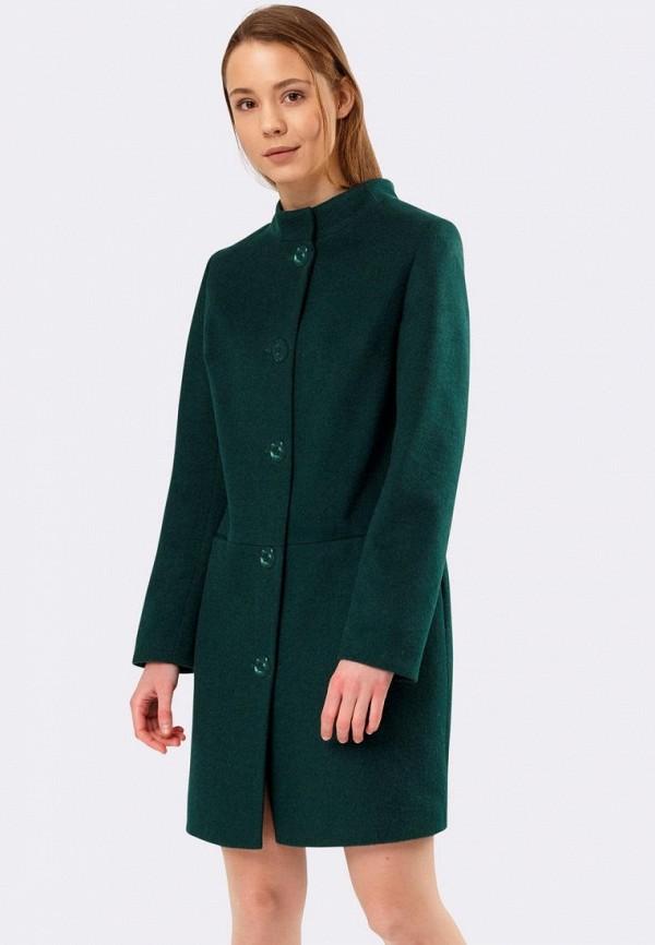 женское пальто cat orange, зеленое