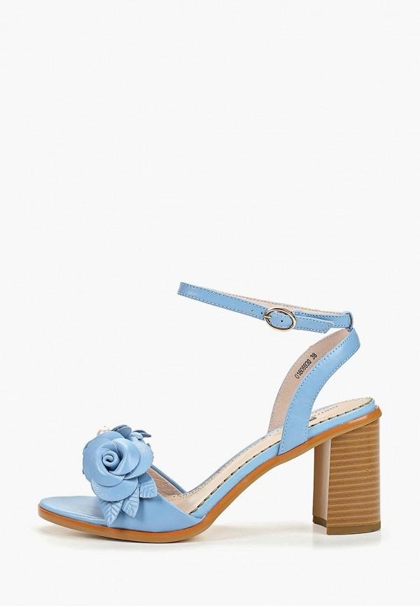 женские босоножки pierre cardin, голубые