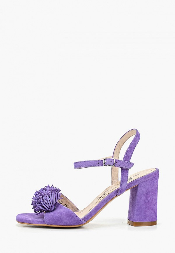 женские босоножки pierre cardin, фиолетовые