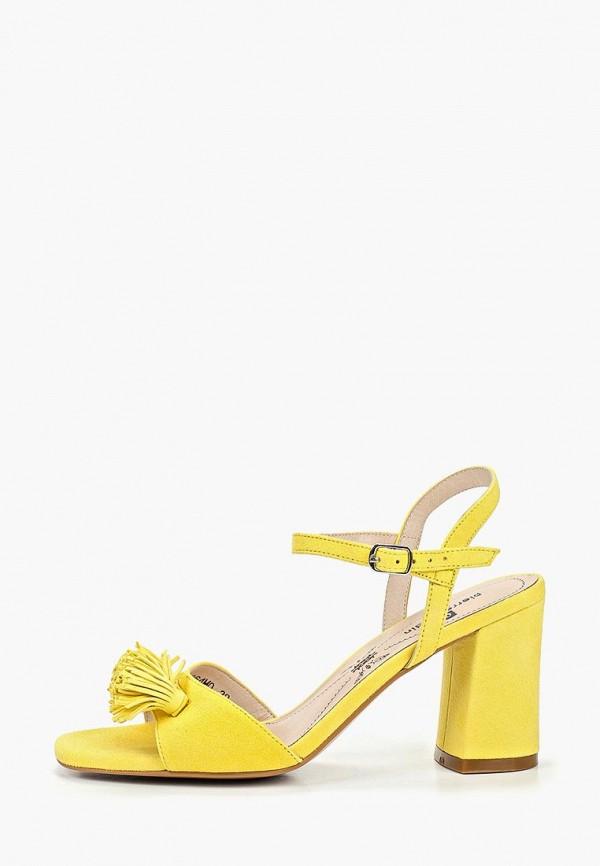 женские босоножки pierre cardin, желтые