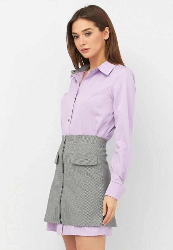 женский костюм ricamare, фиолетовый