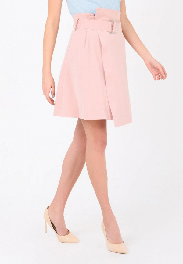 женская юбка ricamare, розовая