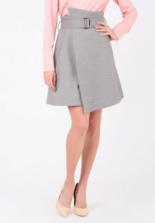 женская юбка ricamare, коричневая