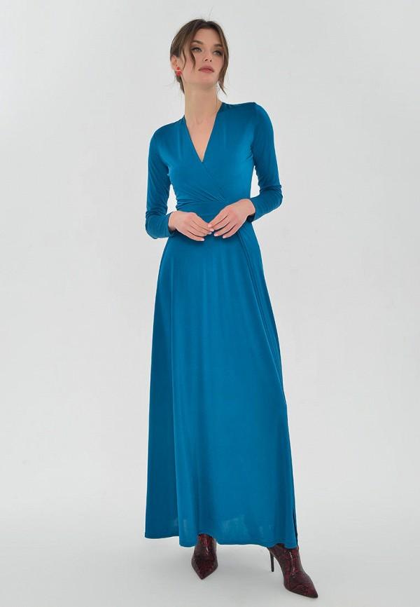 женское вечерние платье mondigo, бирюзовое