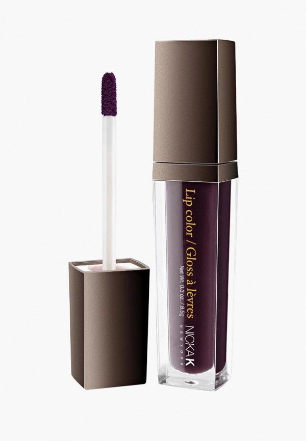 блеск для губ nicka k new york, фиолетовый