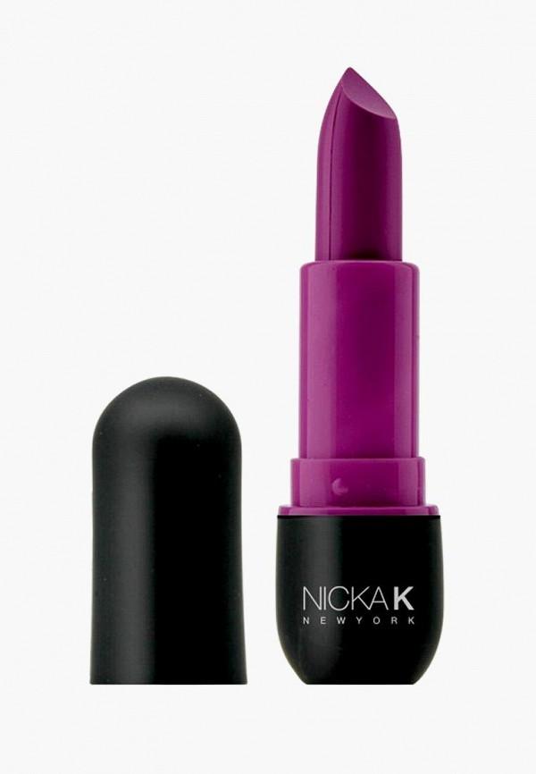 помада nicka k new york, фиолетовая