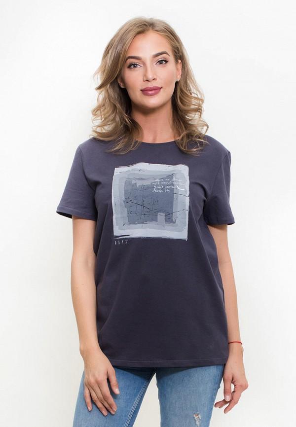 женская футболка days, серая