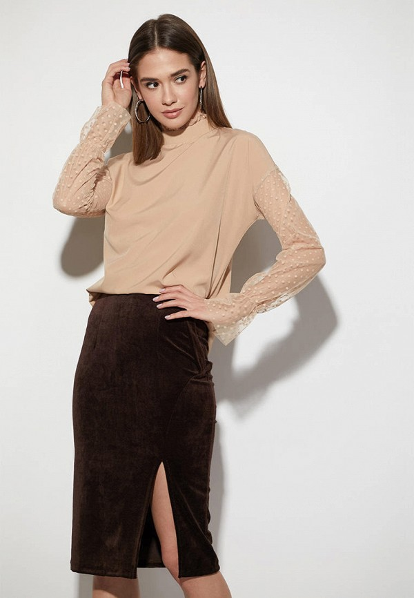женская блузка karree, бежевая