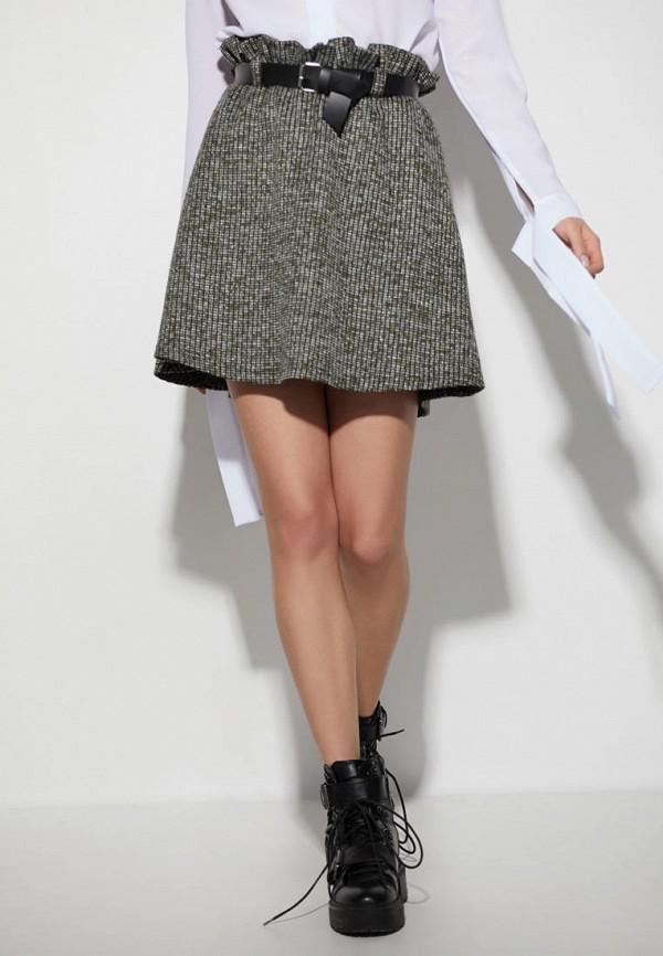 женская юбка karree, хаки