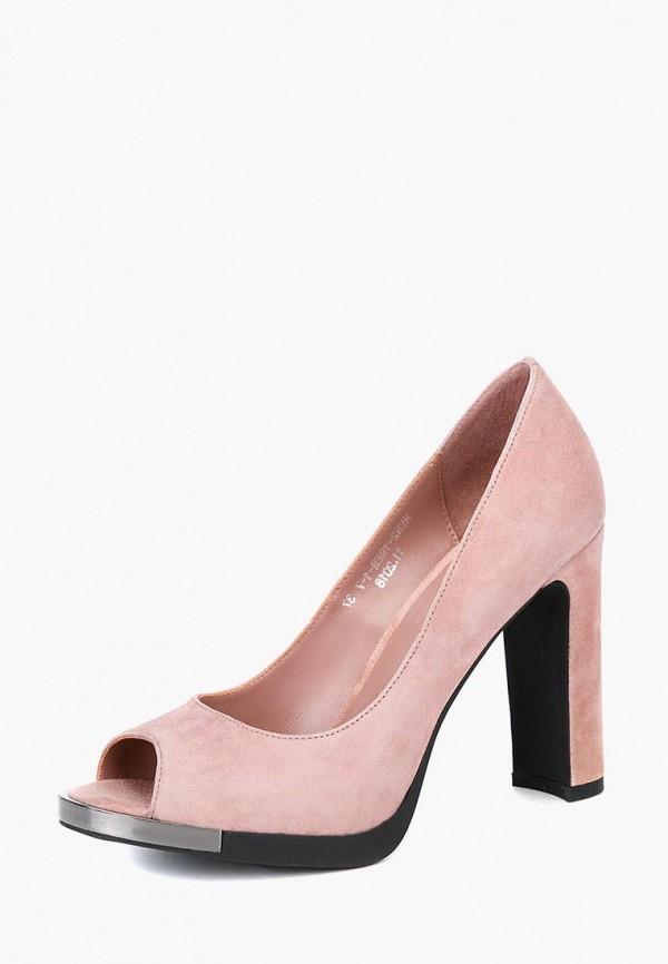 женские туфли lisette, розовые