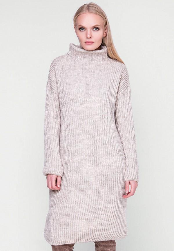 женское платье sewel, бежевое