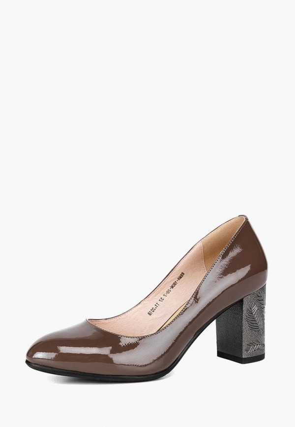 женские туфли lisette, коричневые