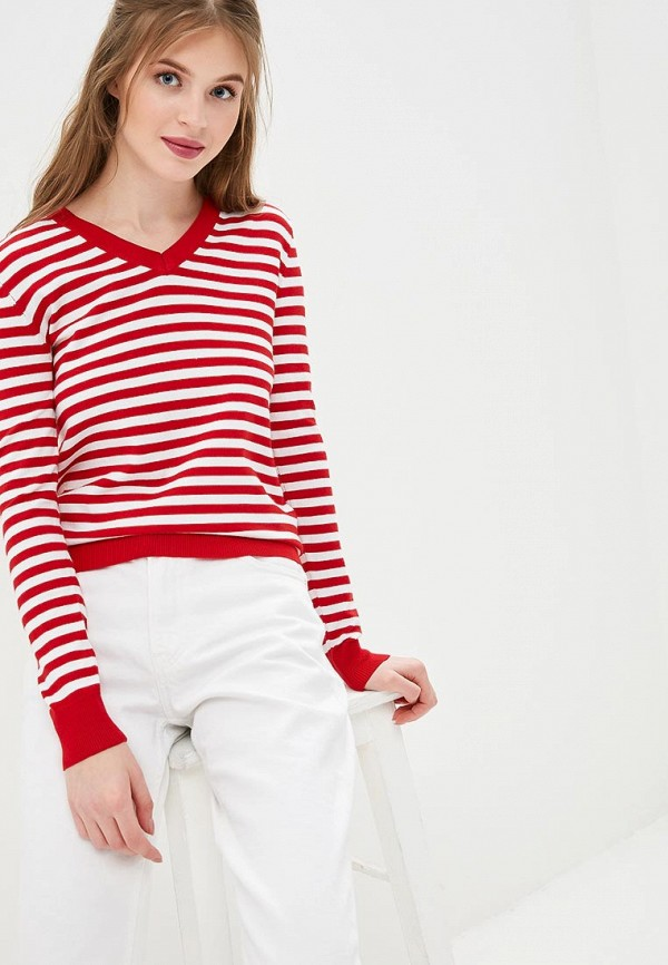 женский пуловер conso wear, красный