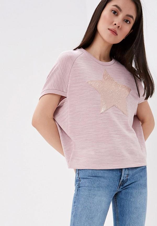 женский свитшот eliseeva olesya, розовый