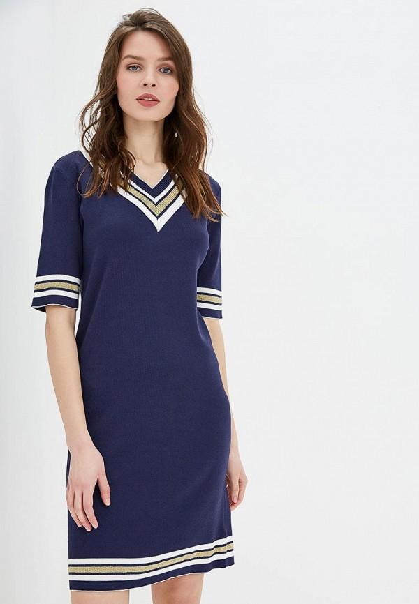 женское повседневные платье conso wear, синее