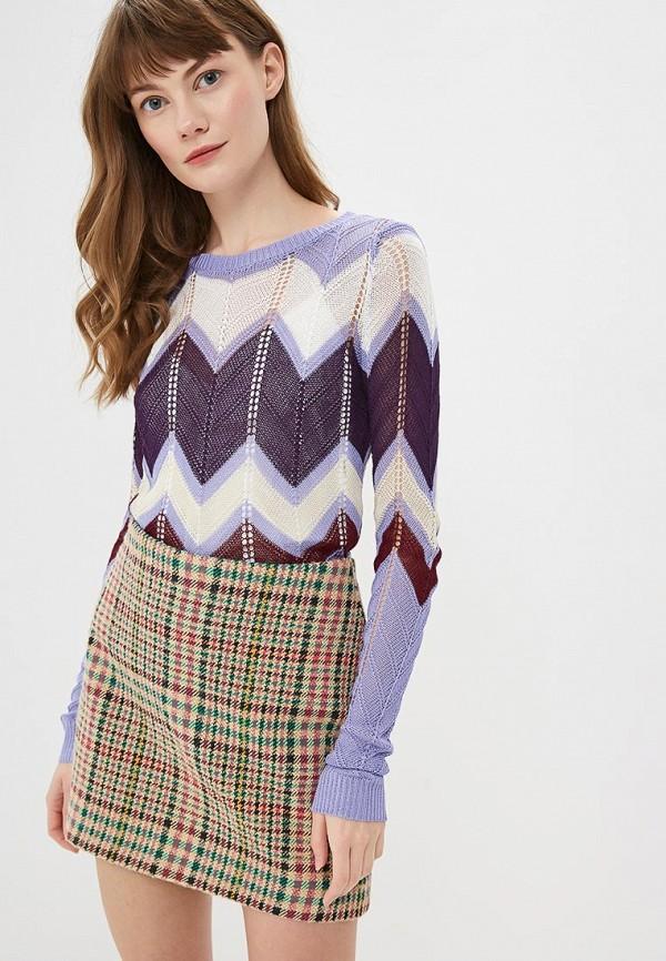 женский джемпер conso wear, фиолетовый