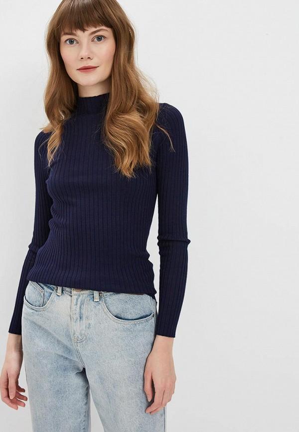 женская водолазка conso wear, синяя