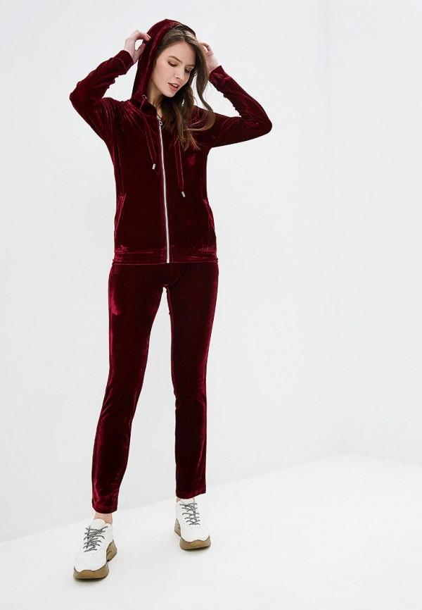 женский костюм conso wear, бордовый