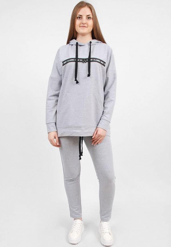 женский спортивные спортивный костюм sab, серый