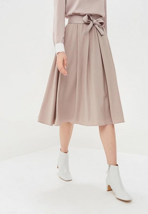 женская юбка lusio, бежевая