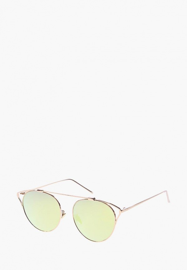 женские солнцезащитные очки кошачьи глаза vittorio richi, зеленые