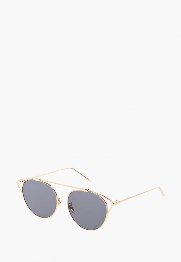 женские солнцезащитные очки кошачьи глаза vittorio richi, черные
