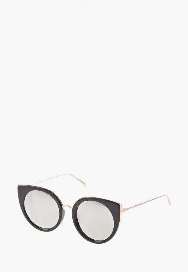 женские солнцезащитные очки кошачьи глаза vittorio richi, серые