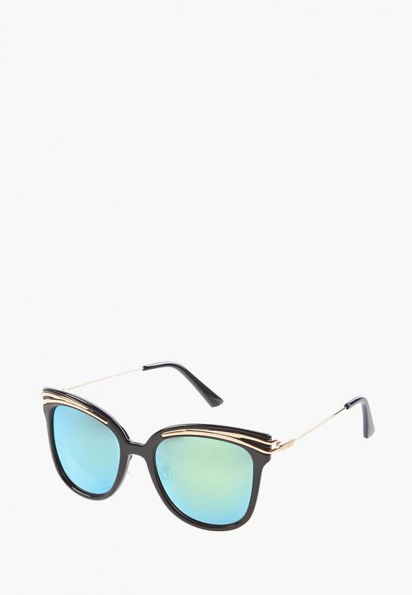 женские солнцезащитные очки кошачьи глаза vittorio richi, синие