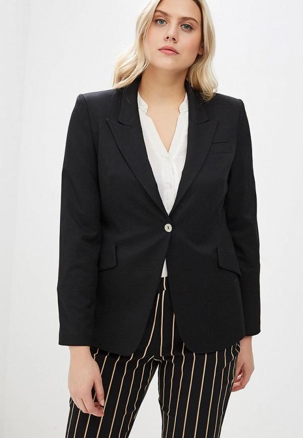 Пиджак  черный цвета