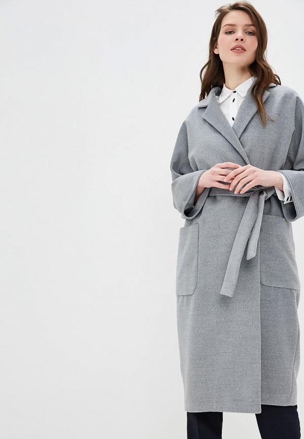 женское пальто villagi, серое