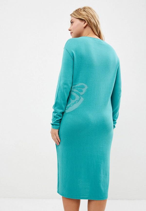 Платье MaryTes цвет бирюзовый  Фото 3