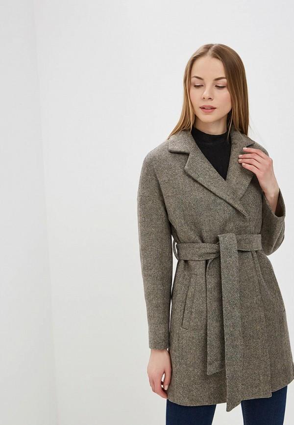 женское пальто acasta, коричневое