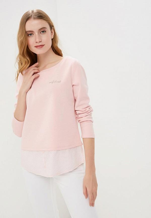 женский свитшот colin's, розовый