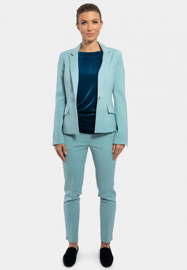Фото 2 - Мужские брюки Vladi Collection голубого цвета