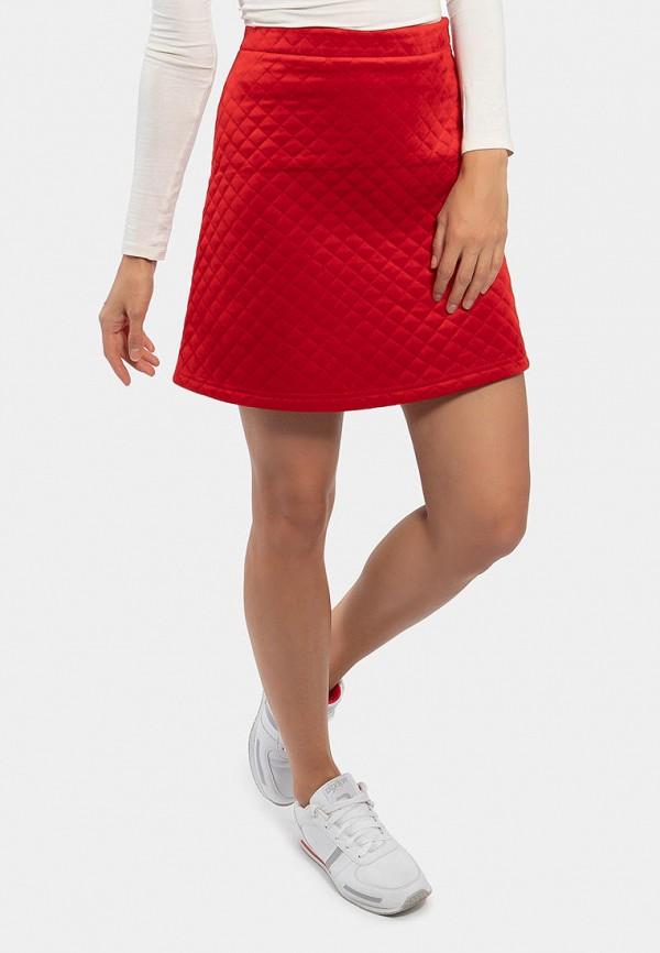 женская юбка vladi collection, красная