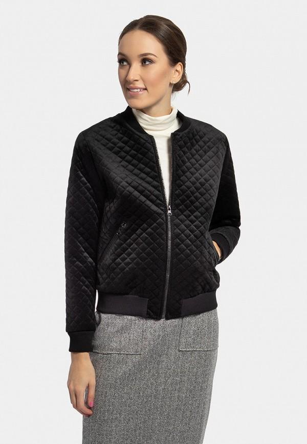женская куртка vladi collection, черная