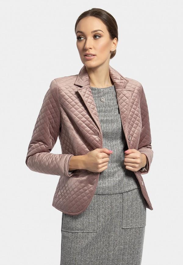 женская куртка vladi collection, розовая