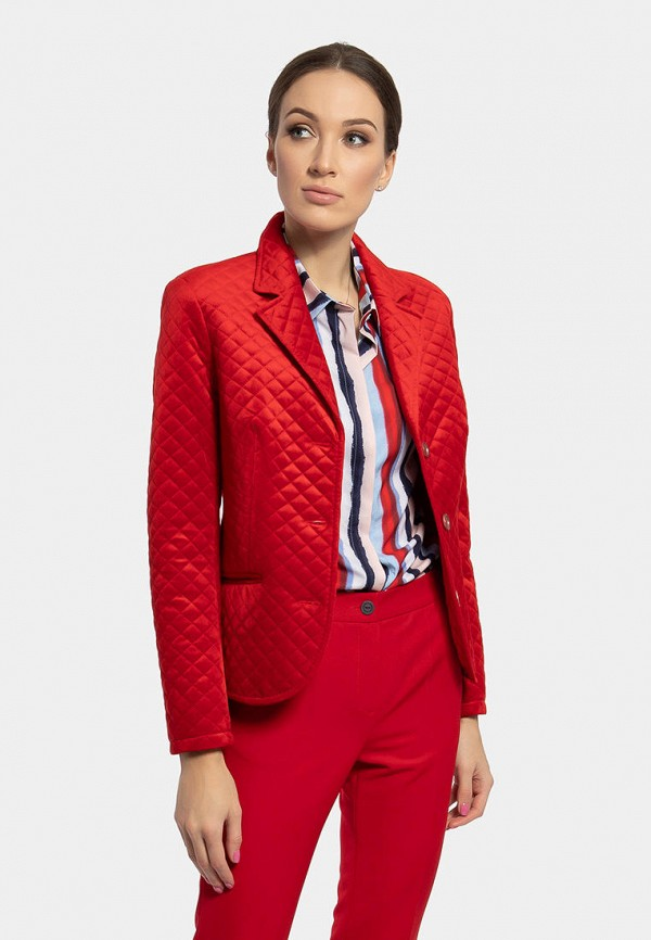 женская куртка vladi collection, красная