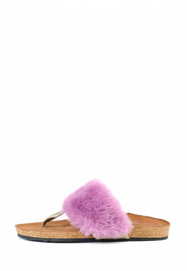 женское сабо litvin, фиолетовое