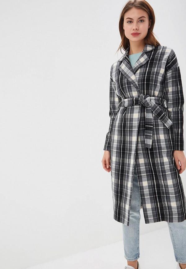 женское пальто sahera rahmani, серое