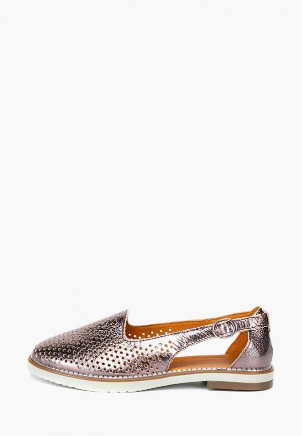 женские туфли lisette, золотые