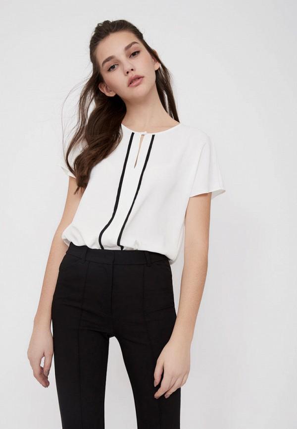 женская блузка lime, белая